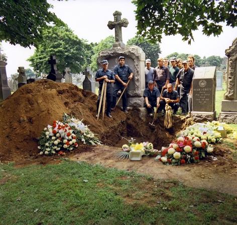 Neal Slavin Cemetary Workers & Greens Attendants, Ridgewood, NY, 1974