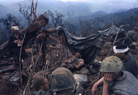 Larry Burrows First Aid Station, DMZ, 1966