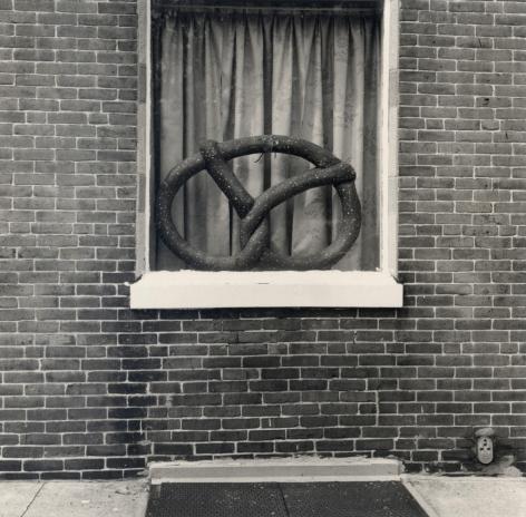 Will Brown Pretzel Window 1973