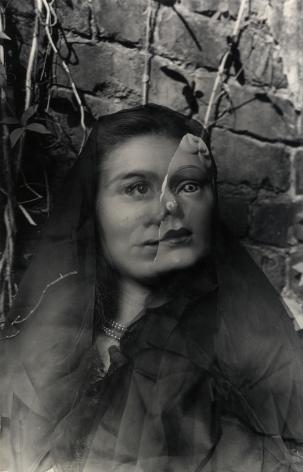 Clarence John Laughlin The Masks Grow To Us, 1947