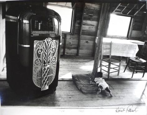 ROBERT FRANK (Swiss/American: born 1924), Café - Beaufort, South Carolina (Negative: 1955-56; Print: 1960s) Early gelatin silver print