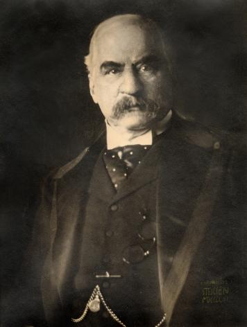 Edward J. Steichen J. Pierpont Morgan, Esq., 1903  gum bichromate over platinum print