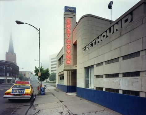 Greyhound Station, Binghmaton, NY, 1986