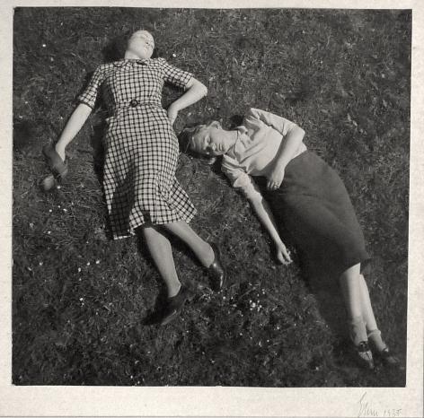 JOSEF EHM (Czech: 1909 - 1989), Summer, from Friends in the Park series (1935)
