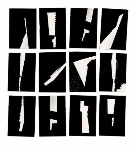 Ray Metzker Apertures (macquette), c. 1964