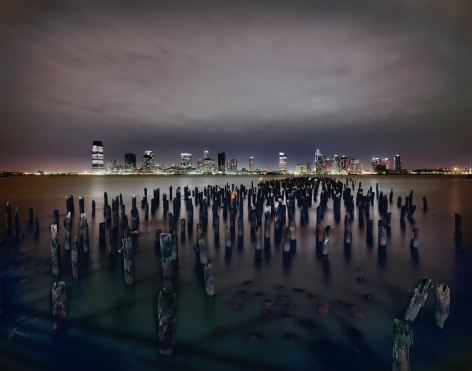Luca Campigotto New Jersey across Hudson River