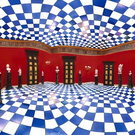 Raissa Venables Red Hall, Villa Wahnfried, 2010