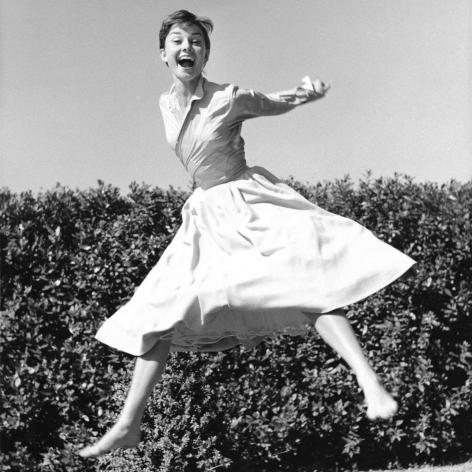Phillipe Halsman Audrey Hepburn 1955