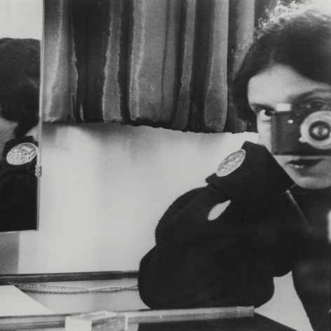 Ilse Ging Self-Portrait in Mirrors, 1931