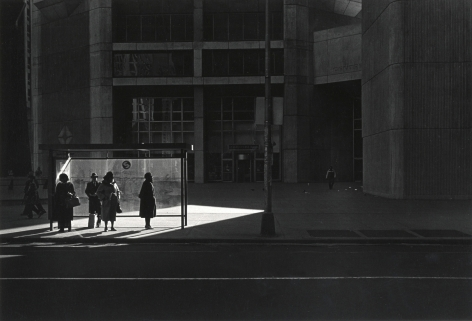 Ray Metzker City Whispers: Philadelphia, 1981