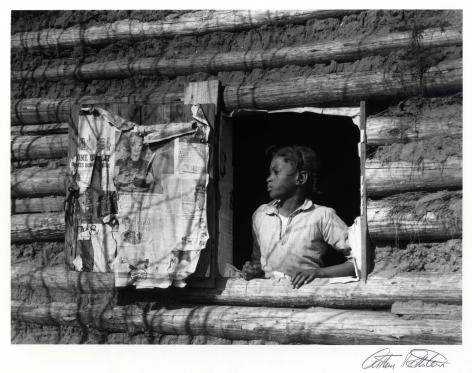 Arthur Rothstein Girl at Gee's Bend, Alabama, 1937