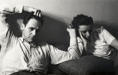 Helen Levitt James and Mia Agee, circa 1942