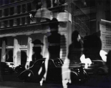 Lisette Model Fifth Avenue (window reflections), c. 1940
