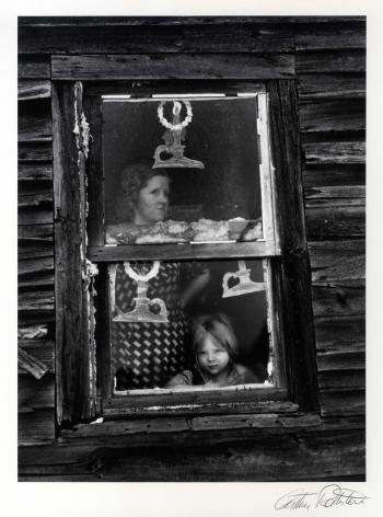 Arthur Rothstein Christmas Window, Oswego Co. New York, 1937