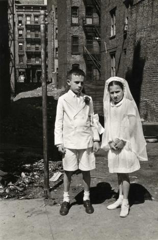 Helen Levitt New York City (First Communion), 1945