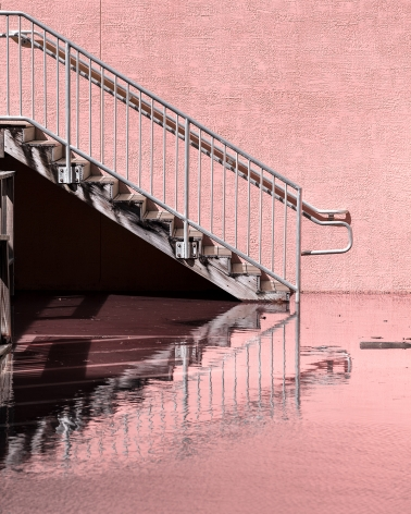 Anastasia Samoylova FloodZone: Staircase at King Tide, Hollywood, Florida 2019