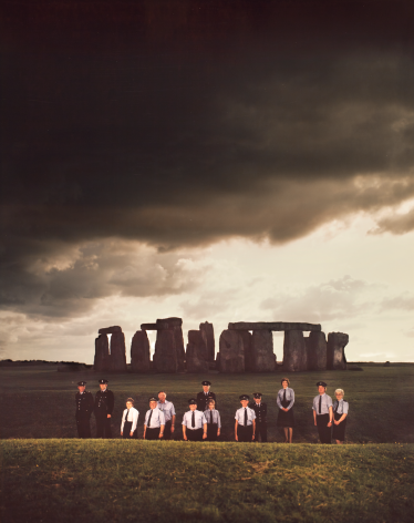 Neal Slavin Custodial Staff, Stonehenge, Wiltshire, UK