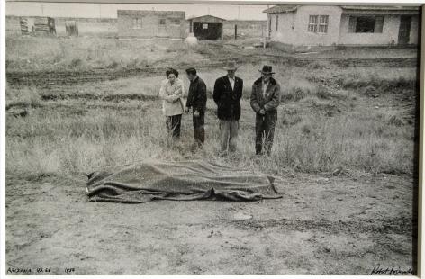 ROBERT FRANK (American: born 1924), Car Accident - U.S. 66, Between Winslow and Flagstaff, AZ. (Negative: 1956; Print: 1960s)