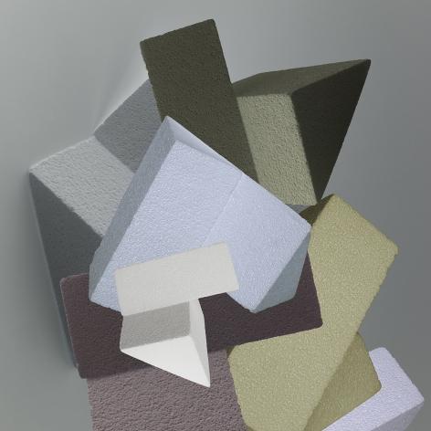 Densi Darzacq abstraction Contreforme Nº1, 2017
