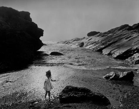 Lynne, Point Lobos, 1956  gelatin silver print