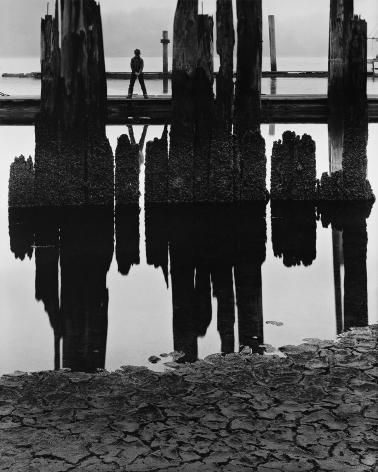 Boy Fishing, 1959 gelatin silver print