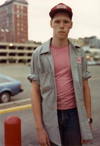 Bruce Wrighton Parking Attendant, Binghamton, NY, 1987