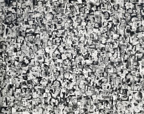 Harry Callahan Collage, circa 1956