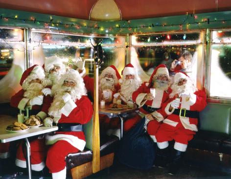Neal Slavin Santa Clauses, 1986