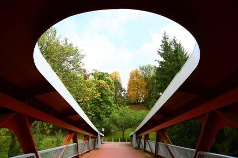 Toshio Shibata, Esch-sur-Alzette Footbridge, Grand Duchy of Luxembourg, 2013