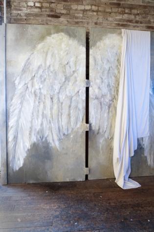 Christopher Rauschenberg Renee Zangara's studio, 2011