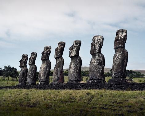 Luca Campigotto Easter Island, 2000
