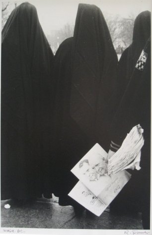 ROBERT FRANK (Swiss/American: born 1924), Inauguration: Eisenhower and Nixon (January, 1957)