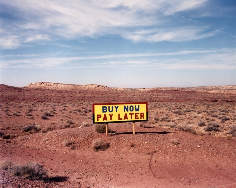 David Graham  Route 64 West of Route 89, AZ, 1986