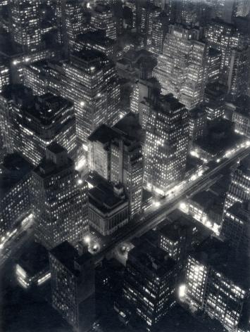 Berenice Abbott New York at Night, 1932 (printed c. 1980)
