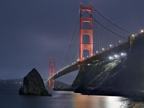Luca Campigotto Golden Gate Bridge, San Francisco