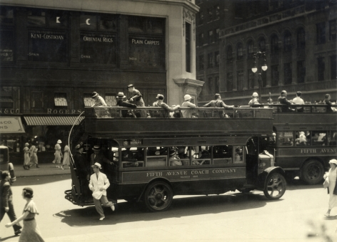 Berenice Abbott Fifth Ave Coach Co NYC 1942
