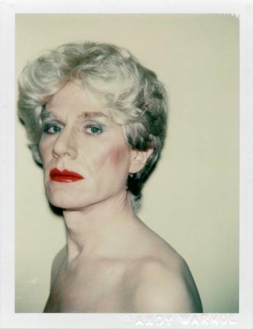 Andy Warhol Self Portrait in Drag, 1981
