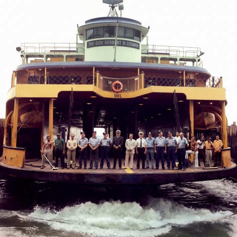 Neal Slavin Staten Island Ferry, NYC 1973