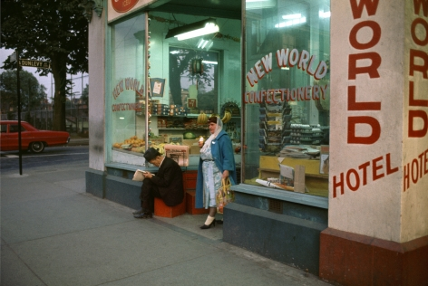 New World Confectionary, 1961