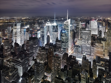Luca Campigotto Empire State Building looking North 2011