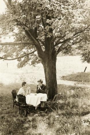 Helen Levitt, James Agee with Delmore Schwartz, Frenchtown, NJ 1939
