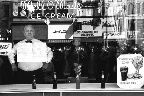 Lee Friedlander Newark, New Jersey, 1962