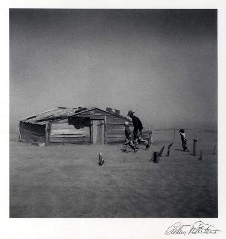 Arthur Rothstein Dust Storm, Cimarron Co.Oklahoma, 1936