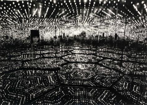 Peter Mooore Yayoi Kusama, Peep show, New york, March 29, 1966 vintage gelatin silver print