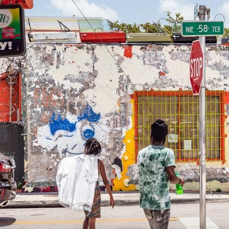 Anastasia Samoylova Street Crossing in Little Haiti, Miami, 2018