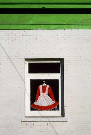 Fred Herzog Dress in Window, 1986