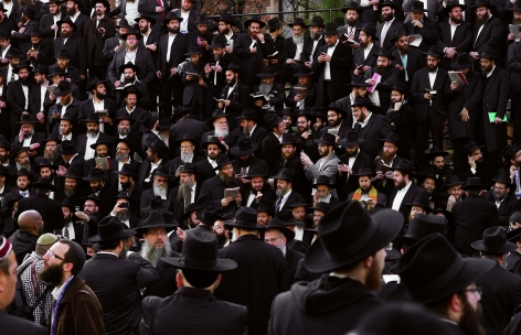 Neal Slavin Convocation, Lubavitcher Rebbe, Brooklyn, NY 2011
