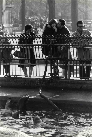Garry Winogrand Central Park Zoo (couple and seals), c. 1963 (pr 1970s)