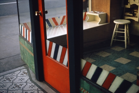 Fred Herzog Empty Barbershop, 1966