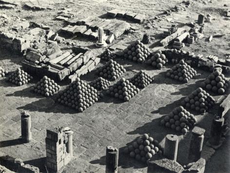 Alfred Eisenstaedt Ruins of Pergomen Turkey, 1934
